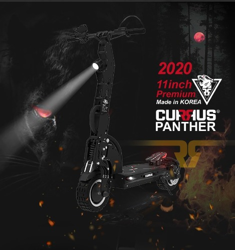 CURRUS PANTHER 듀얼모터 11인치 Made in KOREA 전동킥보드 쿠루스 PANTHER